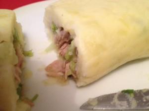 Georgische Küche: Kartoffelwurst mit Tunfisch und Avocado - von Alex