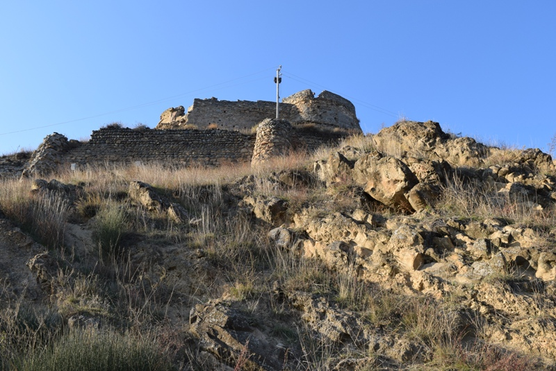 goris cikhe in gori-georgien