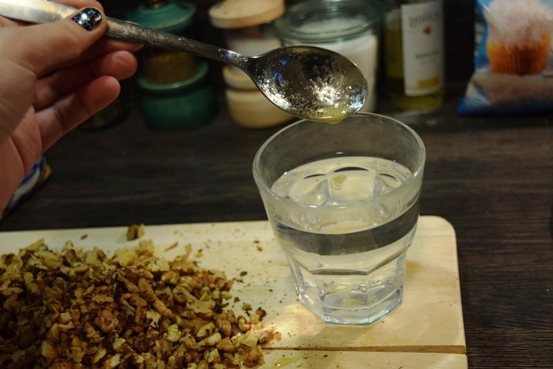 georgische küche gozinaki - testen ob hart;)