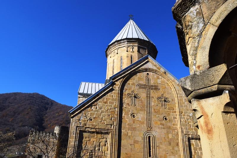georgien ananuri kirche